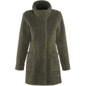 Bergans W's Oslo Wool LooseFit Jacket Seaweed Mel